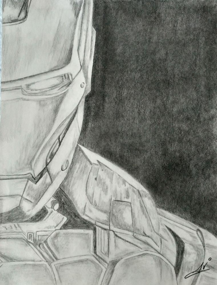 Iron Man by Nereaaj